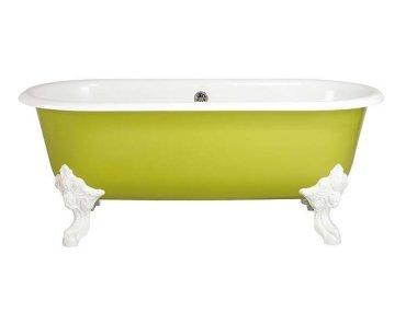 Bañera esmaltada estilo retro