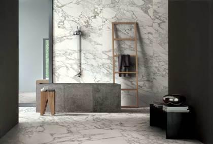Piezas de efecto piedra natural y mármol