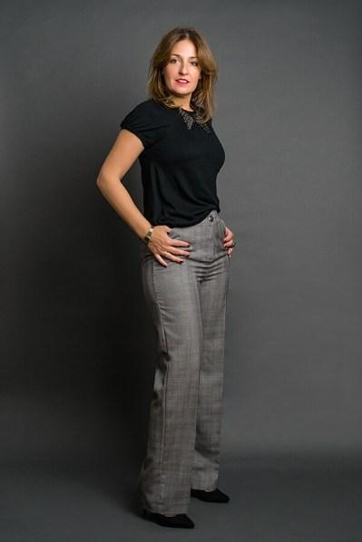 Pantalón Josefina Cuadros Gales 2 - AW2021 Las SinSombrero - Azul Marino Casi Negro - Moda sostenible