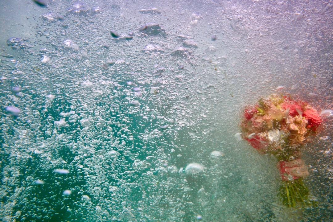 Underwater Wedding Bouquet.