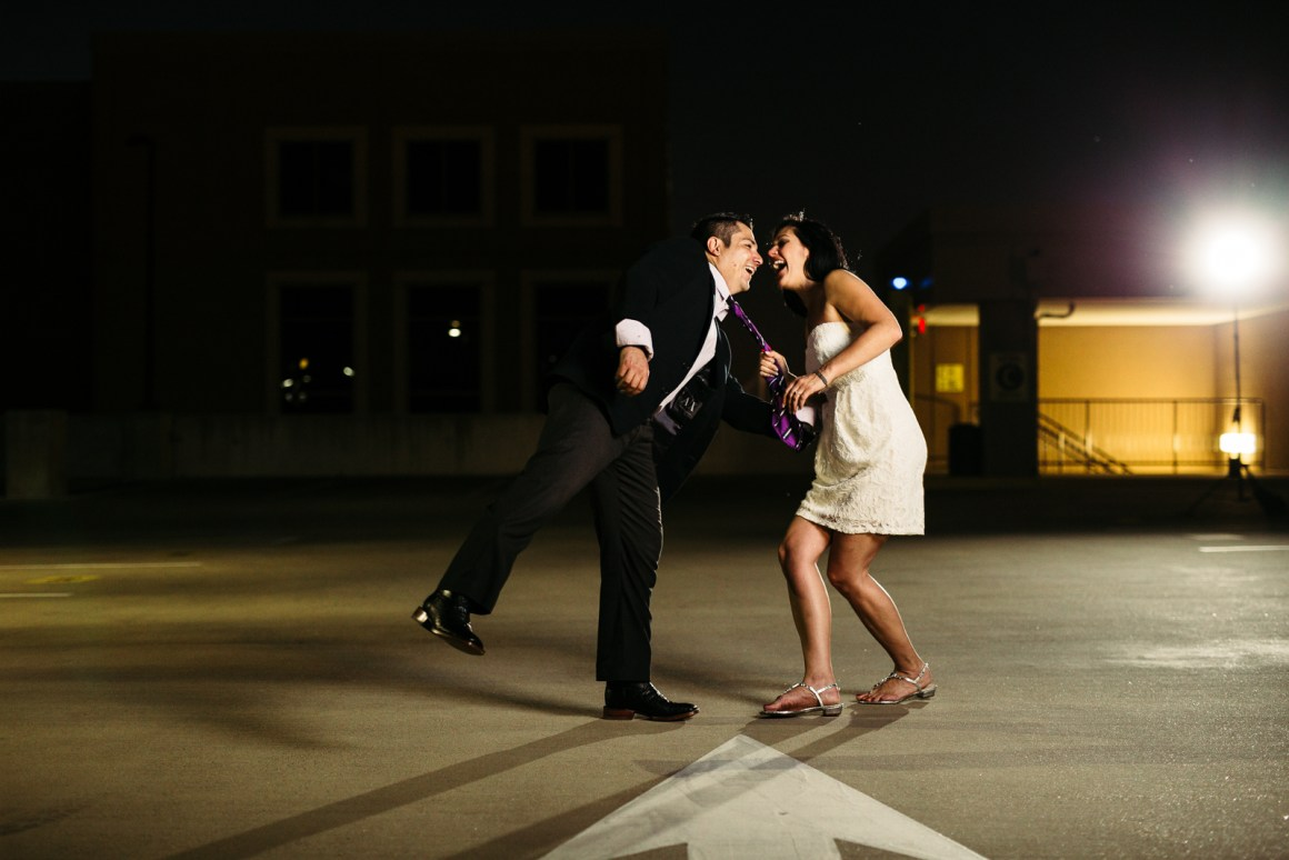 Dallas Skyline Engagement Session