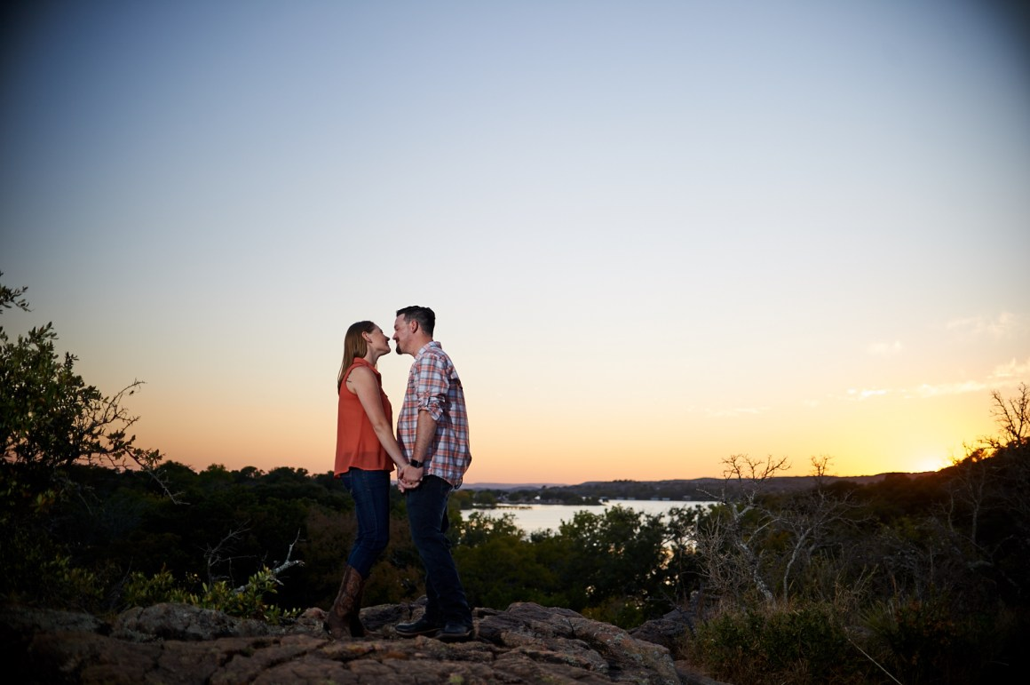 Joseph and Sara - Texas Hill Country Engagement-0012