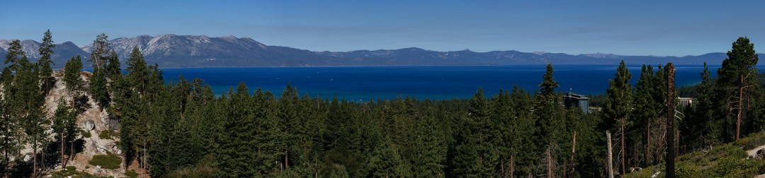 Tahoe Panorama Pretty sure the only panoramic I photographed this year. From a hike with the family to get a view of Lake Tahoe. Testing out the photomerge feature of Lightroom.
