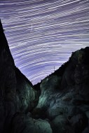 Rattle Snake Canyon startrail.