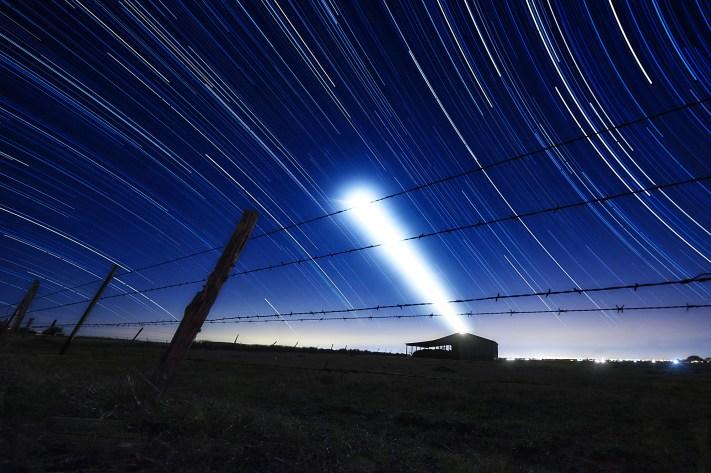 Barn Star Trail - Editing Star Trails - Austin Photo Workshops - Star Trail Photography Workshop