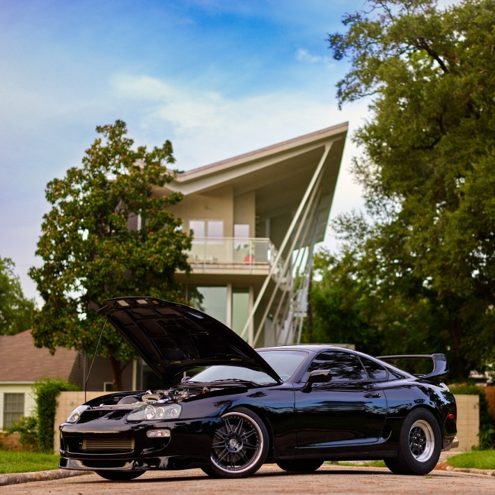 Houston Car Photography - Toyota Supra - Phase One IQ3 100