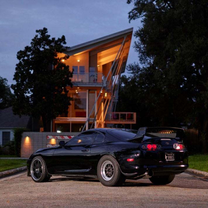 Toyota Supra Turbo - Automotive Photorgaphy - Ansel Adams, Equipment and Creativity