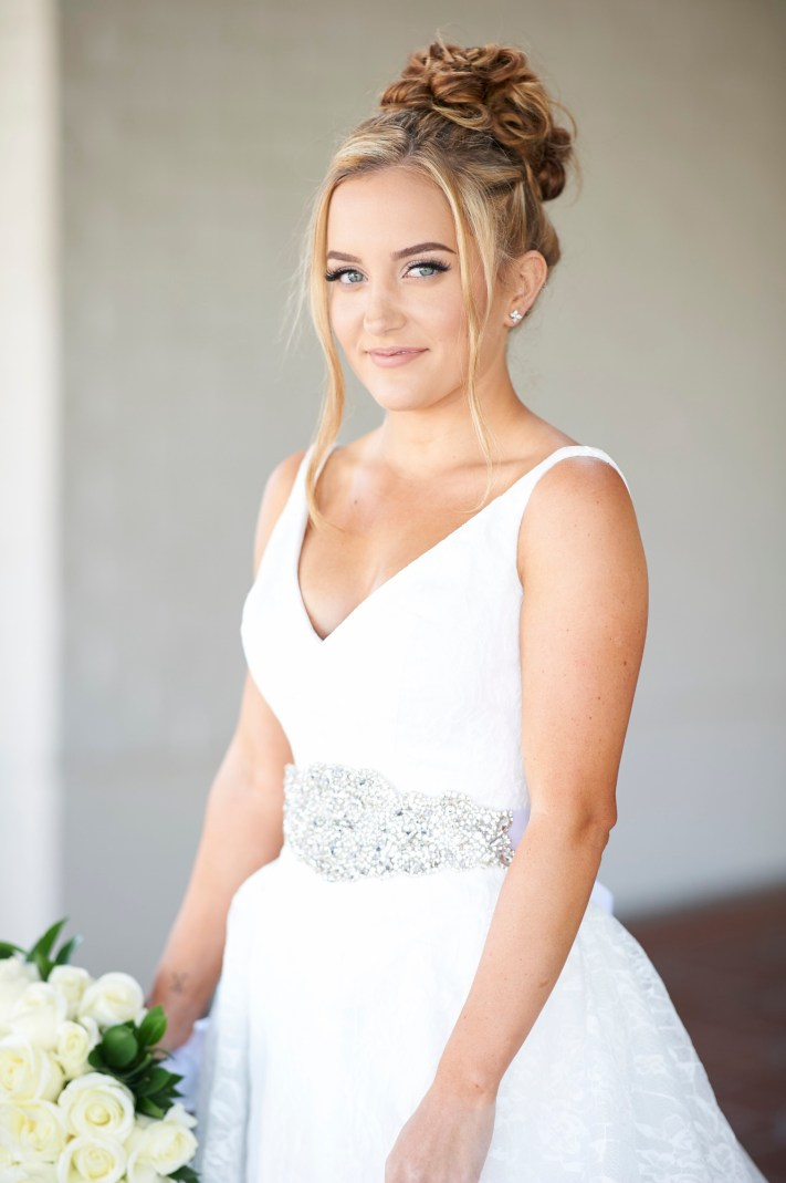 Available Light Wedding Portrait- First Impression of the Nikon 105mm f/1.4E ED
