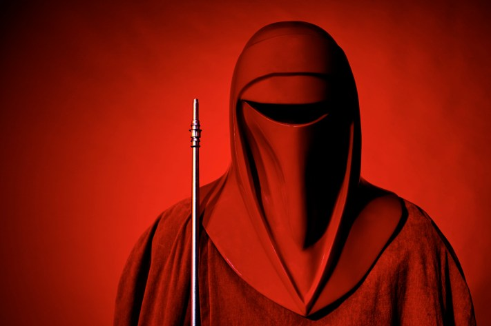 Learning Flash Photography. Star Wars Imperial Guard Cosplay