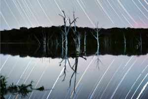 PureNight Filter Review - Inks Lake Star Trail Photography - Landscape Crop - Star Trail Work Shop - Austin Star Trail Workshop