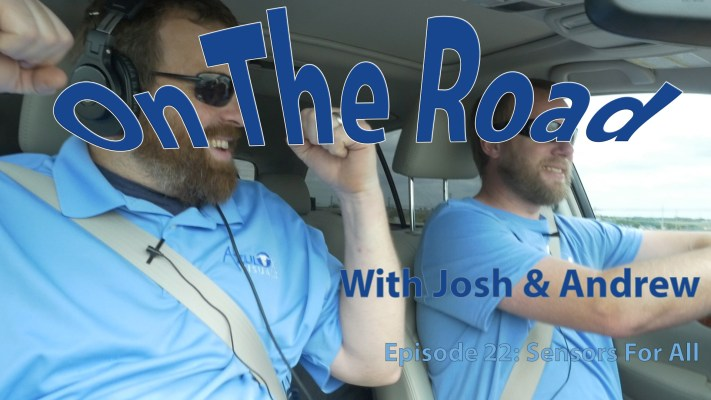 On the Road Podcast 22 – Sensors for All