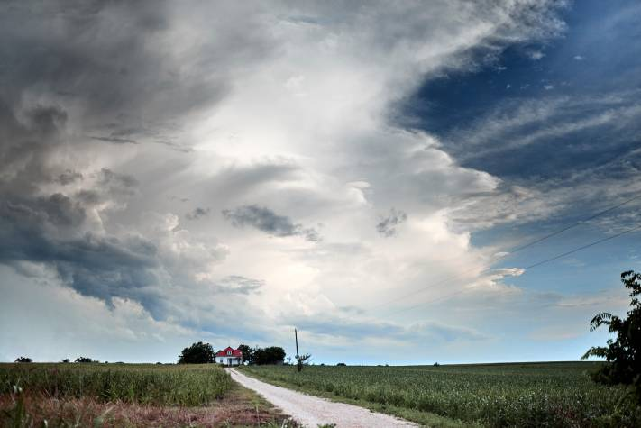 Austin Landscape Photography - Stormy Skies - Farmland - Storms - Weather - Photography VLOG