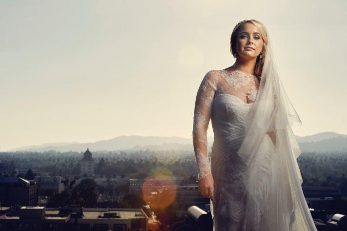 Beverly Hills Bridal Portrait - Destination Wedding Photographer
