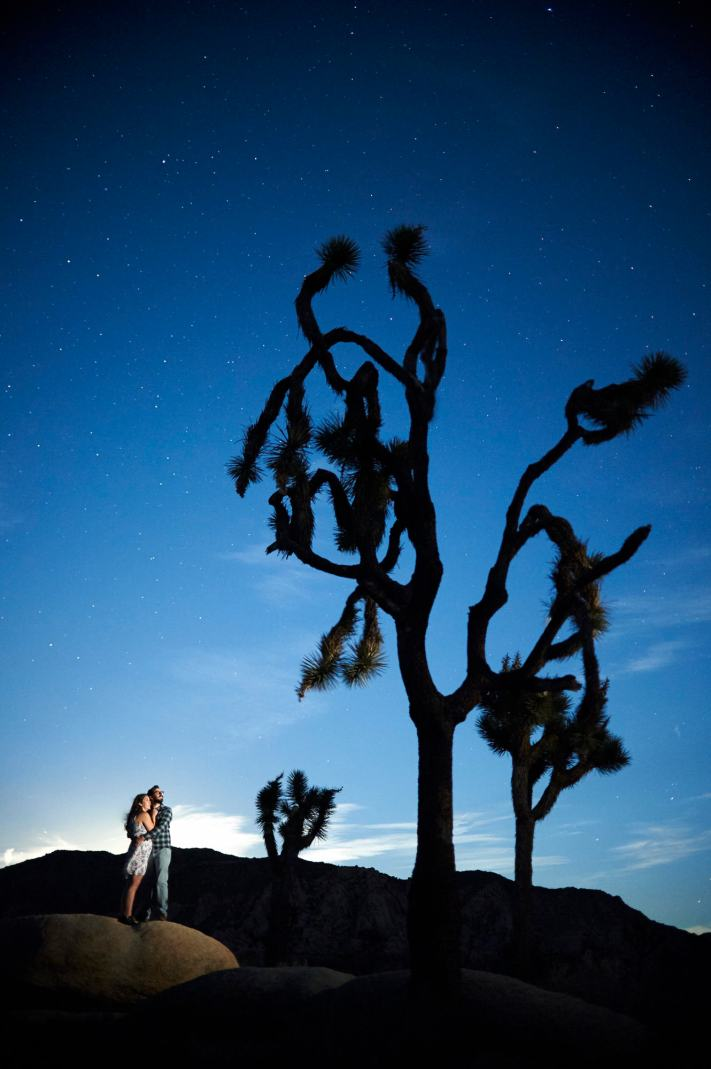 Joshua Tree Engagement Photos - Austin Adventure Engagement - Nikon DX 35mm f1.8 - Photography and Learning
