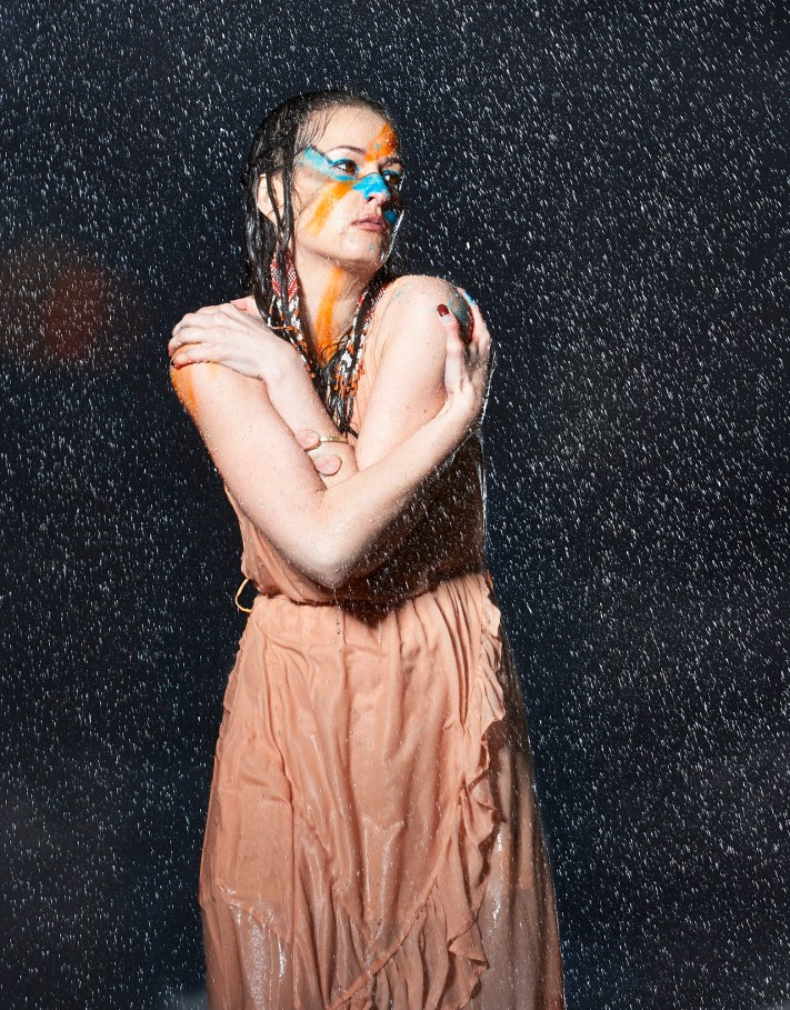 Soaked Creative Portrait Series - Creative Portraits - Austin Photographers - Photography Vlog