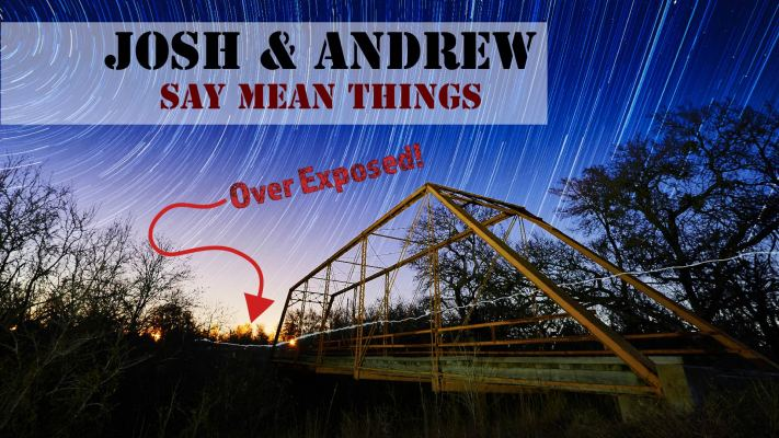 Josh and Andrew Say Mean Things - Live Photo Critique - Austin Photo Workshops