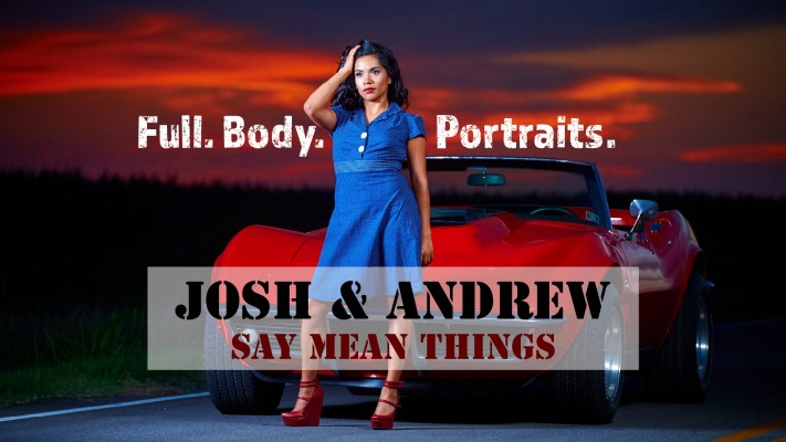 Josh and Andrew Say Mean Things - Live Photo Critique - Austin Photo Workshops - Full Body Portraits - Live Critique