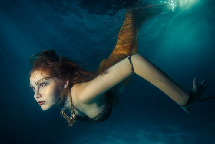 Underwater Mermaid Photography Class