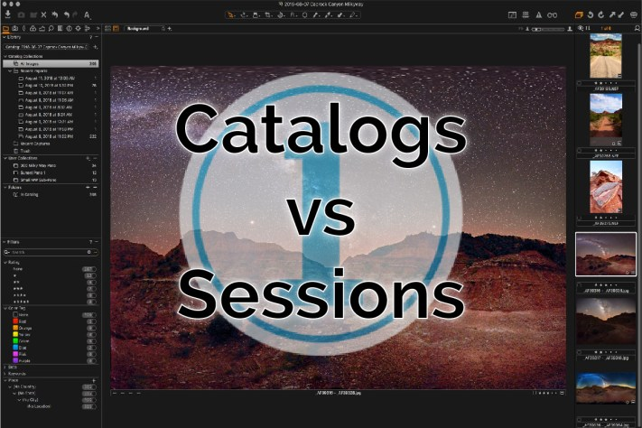 Capture One Catalogs vs Sessions