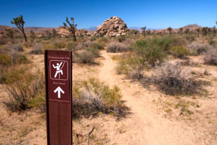 Joshua Tree National Park Climbing Access Trail