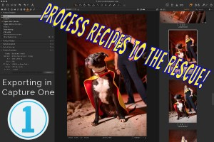 Capture One: Exporting Finished Photos with Recipes