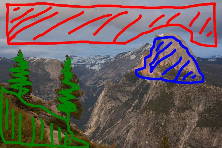 Editing a picture of Half Dome at Yosemite National Park. Planning capture one 12 local adjustments before you start will help you succeed.