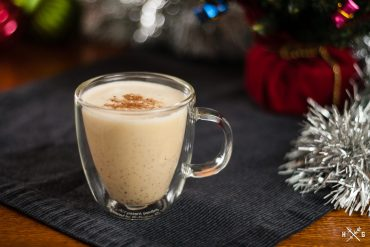 Sherry-Tequila Egg Nog
