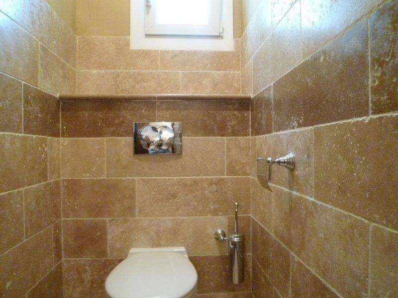 salle de bains azur agencement