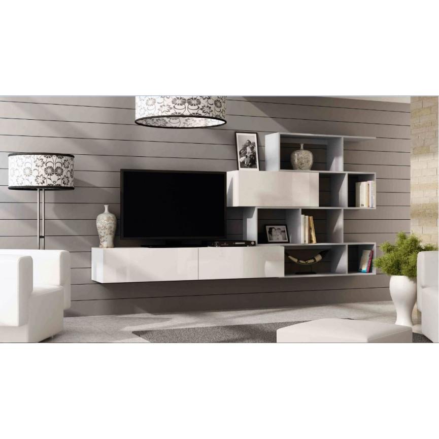meuble TV vigo noir  sjourmeuble tv
