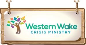 Western Wake Crisis Ministry - Exists to provide a helping hand to the Apex & Holly Springs (NC) community - in the form of food or crisis financial aid - to those in our community whose ability to sustain independent living is threatened by unexpected circumstances: illness, car or home repairs, decrease in wages, etc.