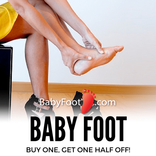 Baby Foot at home treatment will leave your toes and heels looking sandal-perfect this summer!
