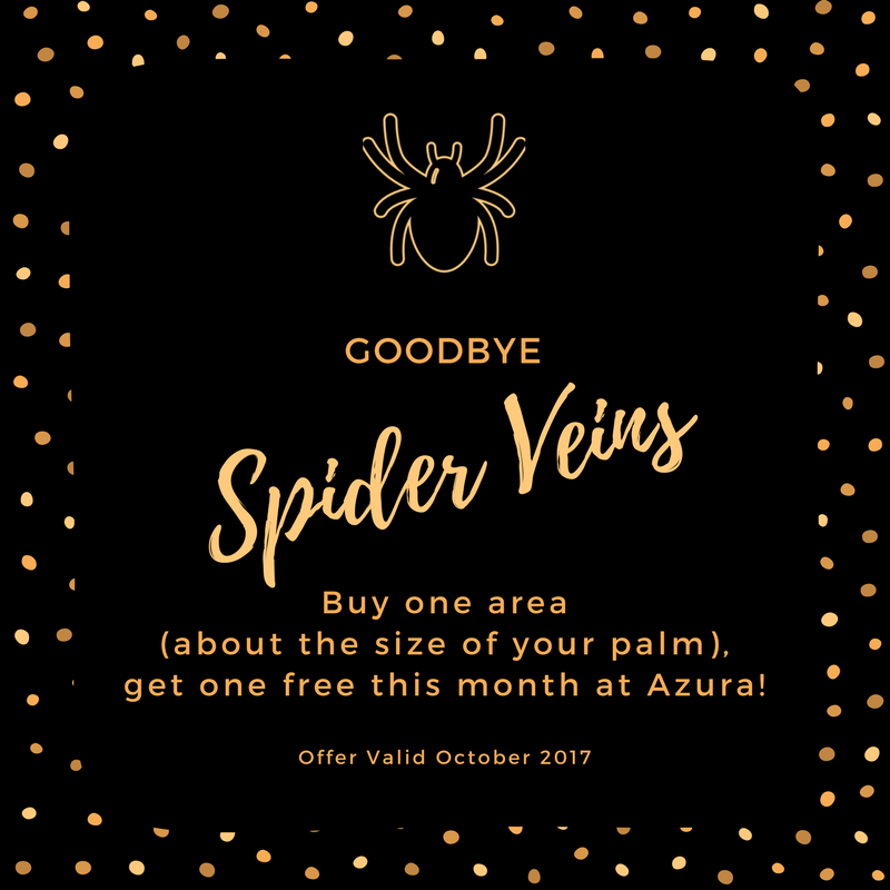 Spider vein treatment Azura Skin Care Center Cary, NC