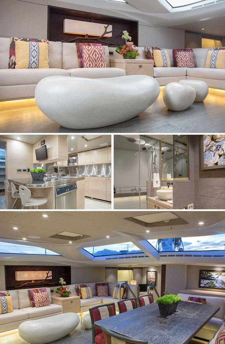 Beyond Comfort Stunning Interiors in Luxury Yacht