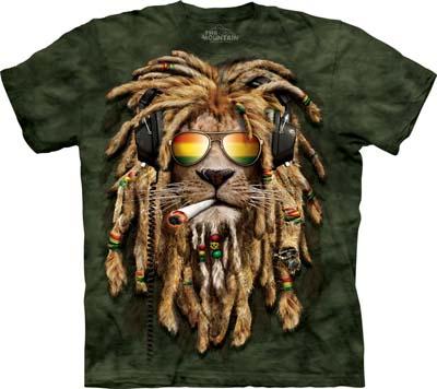Smokin' Jahman medium t-shirt