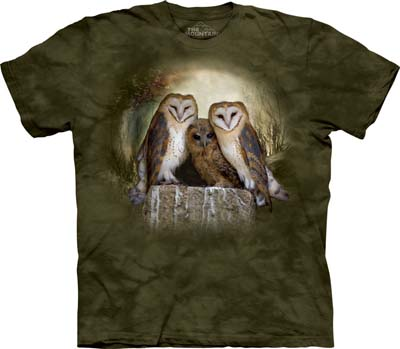 Three Owl Moon medium t-shirt