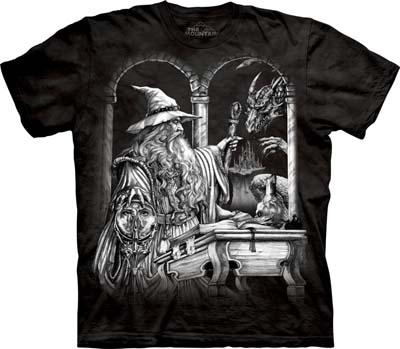 Wizard & Dragon medium t-shirt