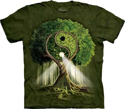 Yin Yang Tree medium t-shirt