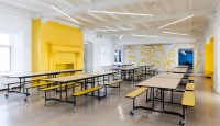 A Colourful, Modern Elementary School in Quebec - Azure ...