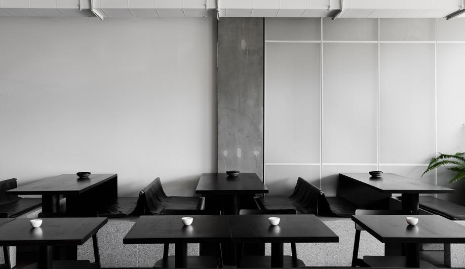 A Cool Concrete Cafe In Melbourne Azure Magazine