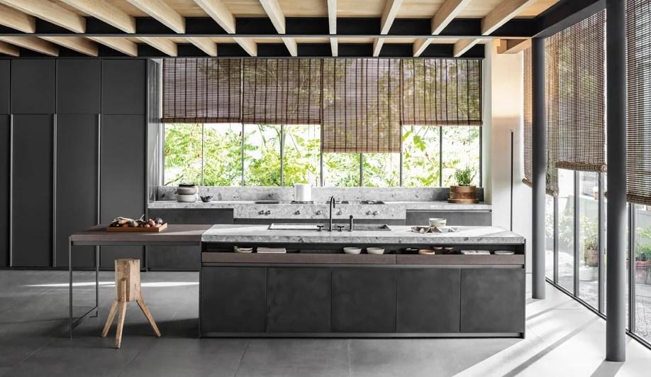 designing kitchens lowes designs the vincent van duysen kitchen is warm lavish and livable s handleless vvd contrasts hefty volumes with slender framework open voids