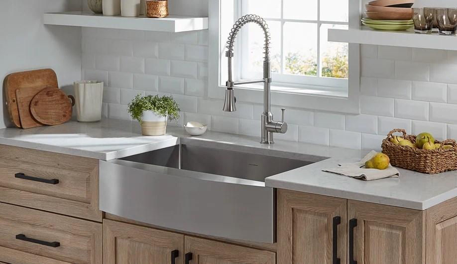5 contemporary kitchen sinks that provide not so basic basins azure magazine azure magazine