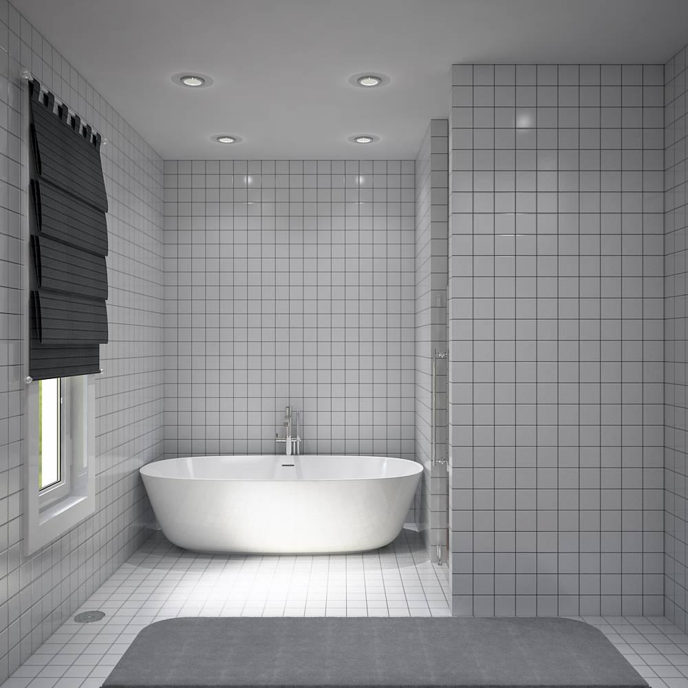 Villa contemporaine 150 M2 Etage  Modle PINEDE  Salon
