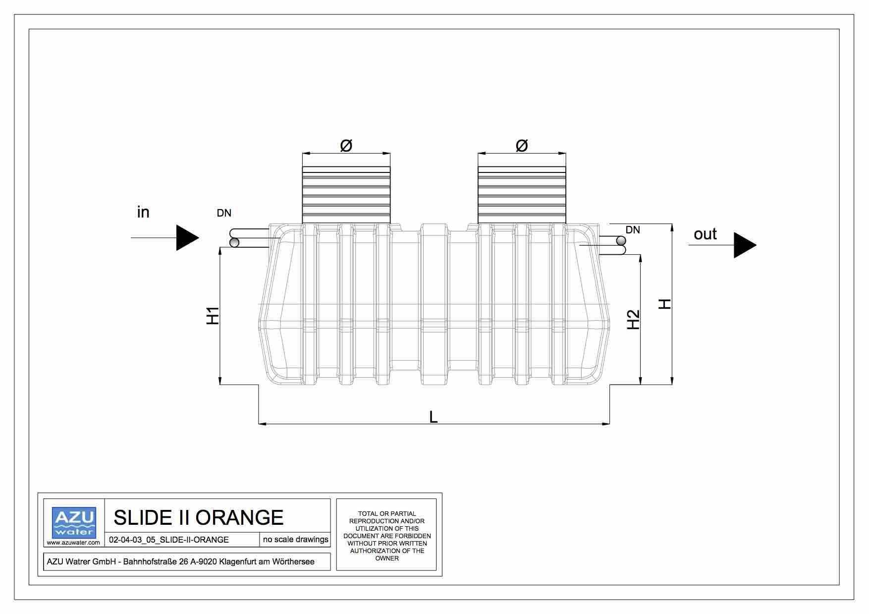 hight resolution of slide ii orange plan oil separator slide ii orange gravity light liquid separator side view