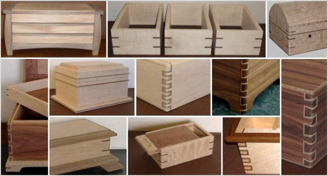 Plywood Box Made With Lapped Miter Joints