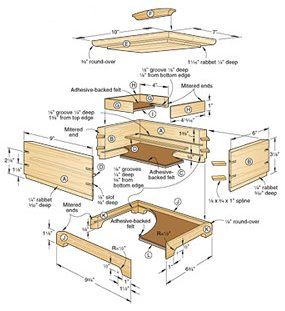 Wood Box Secret Compartment Plans Tired72yqr