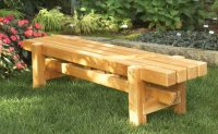 Benches Outdoor Plans