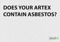 Does Your Artex Contain Asbestos  Azzikit