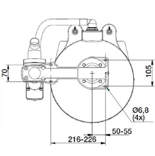 Manual toilets Comfort- Ocean Technologies