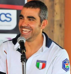 Un sorridente Luigi Lodde, pronto per la sua avventura olimpica