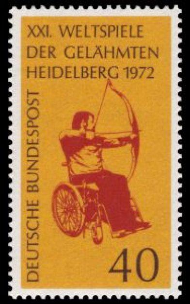 Le Paralimpiadi 1972, disputate ad Heidelberg